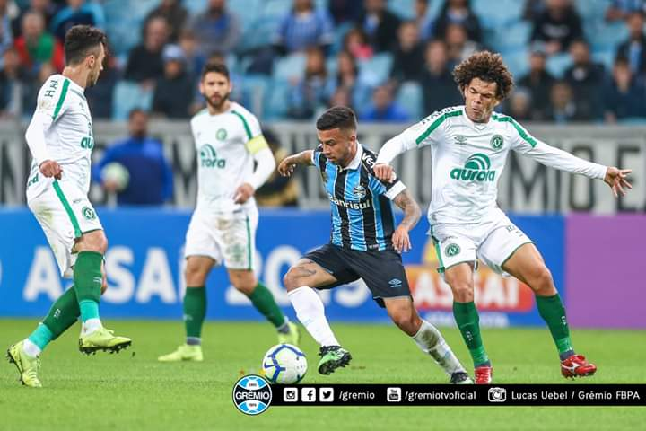Grêmio fica no empate com a Chapecoense na Arena