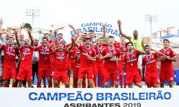 Internacional se torna bicampeão do Brasileirão de Aspirantes