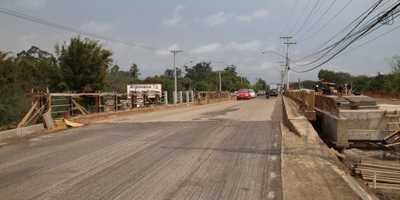 Gravataí próxima da inauguração da duplicação das pontes do Parque dos Anjos