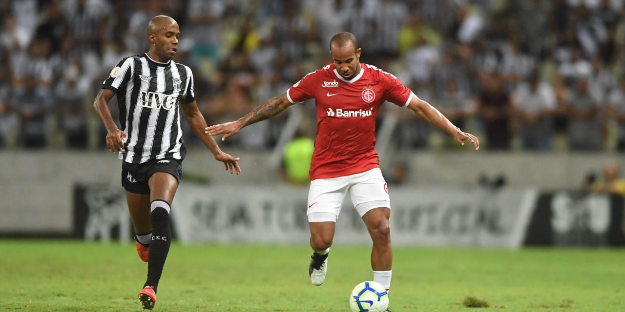 Inter perde para o Ceará e se afasta do G-6 do Brasileirão
