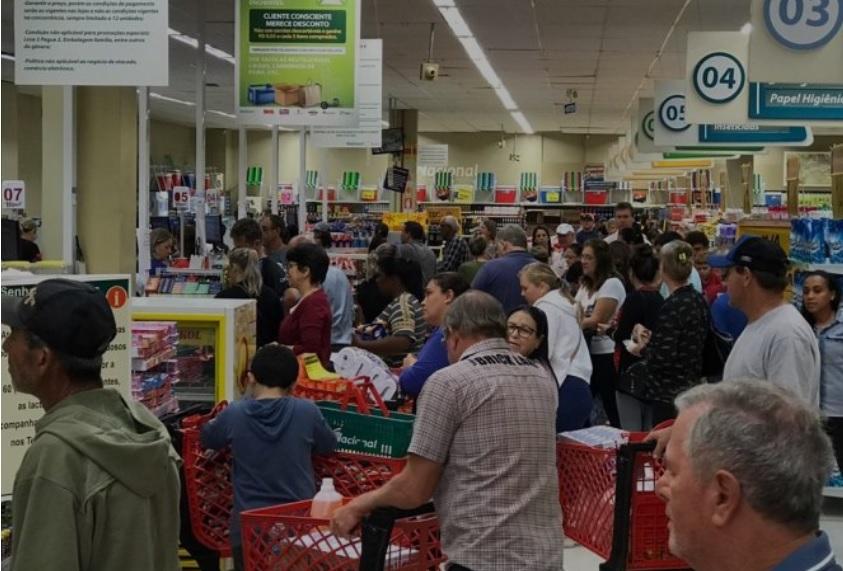 Supermercados projetam crescimento de 9,5% nas vendas de Natal e Ano-Novo no RS