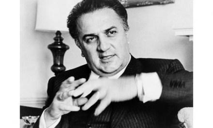 Capitólio celebra centenário de Federico Fellini