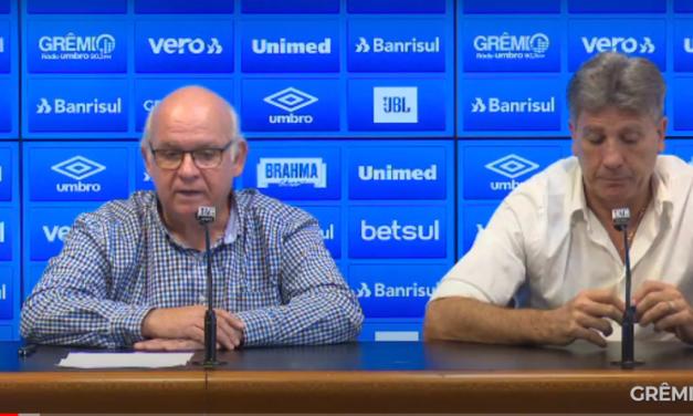 Grêmio demite Klauss Câmara, mas restante do departamento de futebol segue