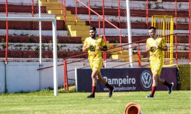 Inter SM anuncia 20 jogadores e inicia preparação para a Copa FGF