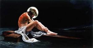 Jesús en la cruz