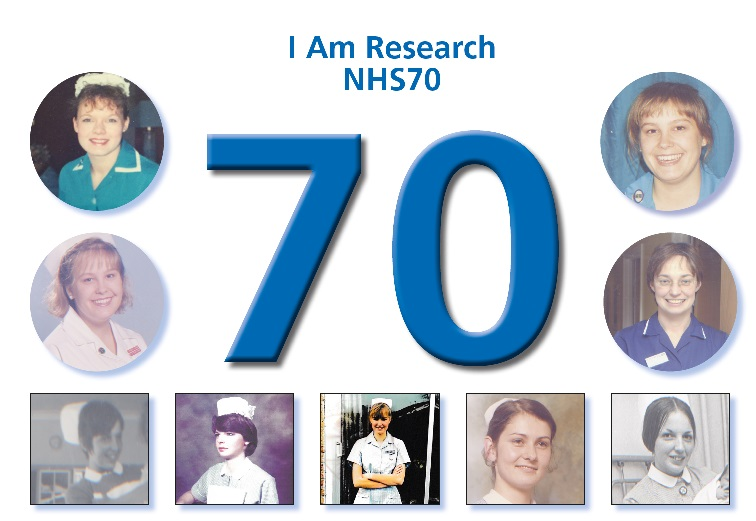 I am Research Photo NHS 70