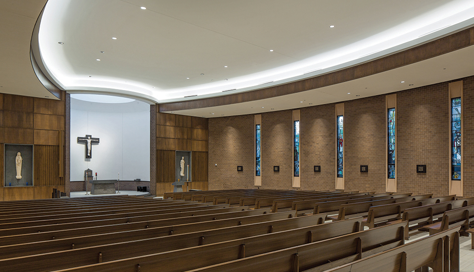 St Joseph Chapel At Dowling Catholic High School RDG