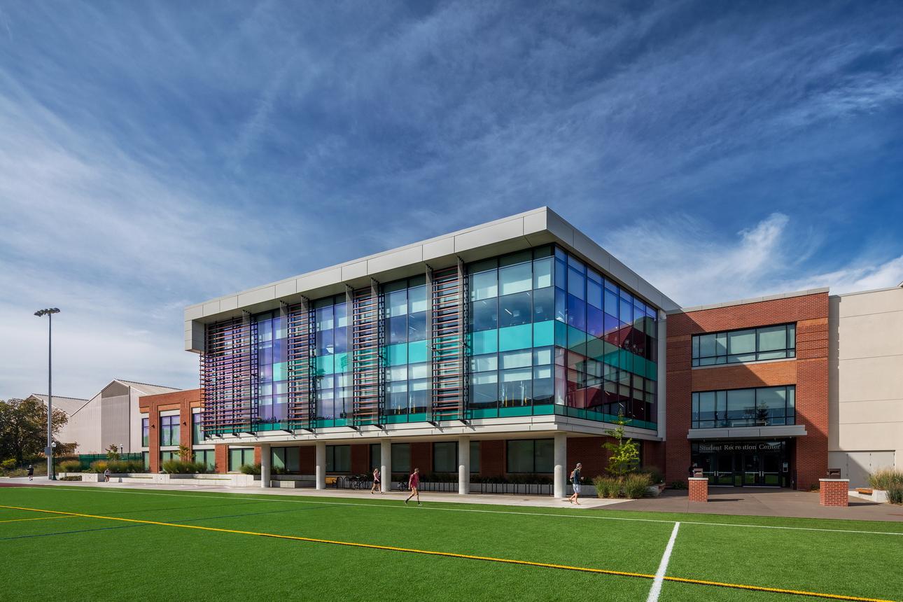 University Of Oregon Student Recreation Center Achieves