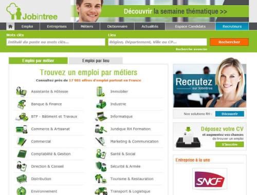 Site spécialisé dans les offres d'emploi