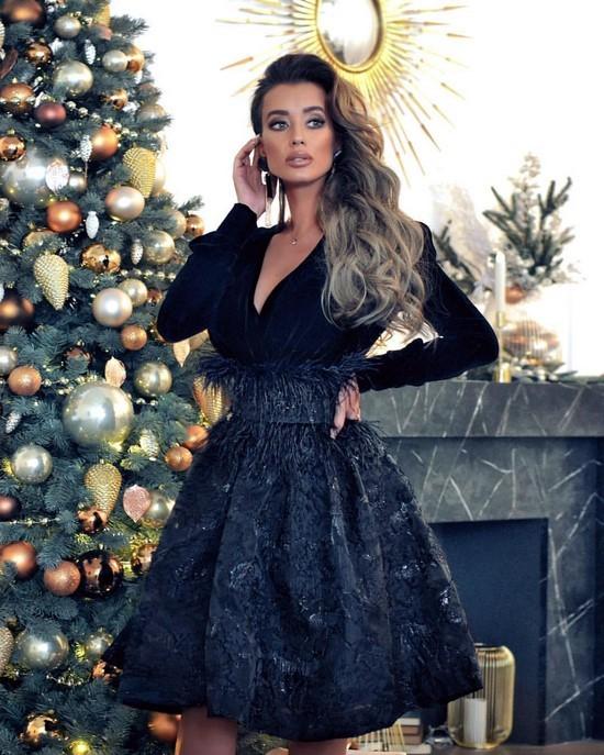 Новогодние платья на алиэкспресс 2020 фото модные фасоны ...