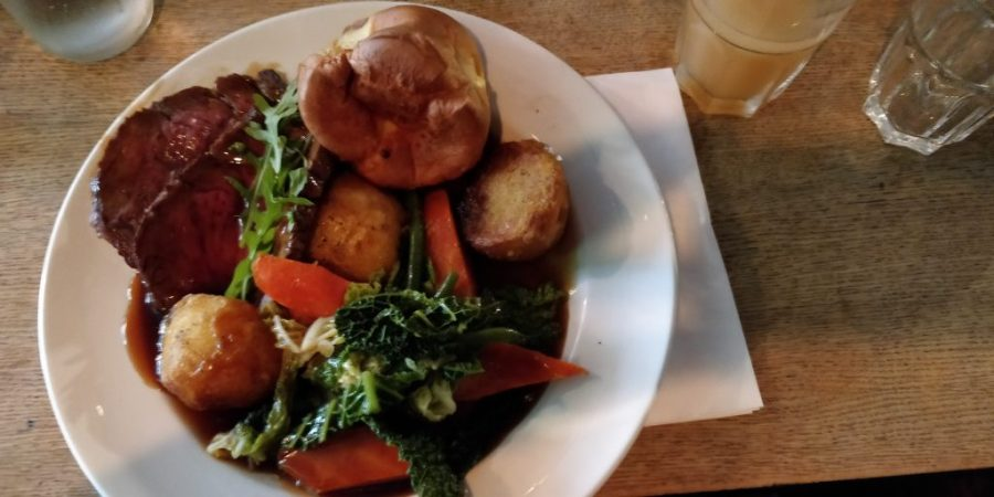 Roast dinner at The Gipsy Queen, Kentish Tavern
