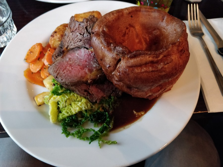 Roast dinner at The Mall Tavern, Notting Hill