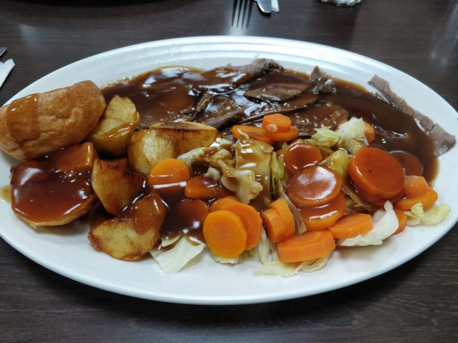 Poplar Cafe Sunday roast