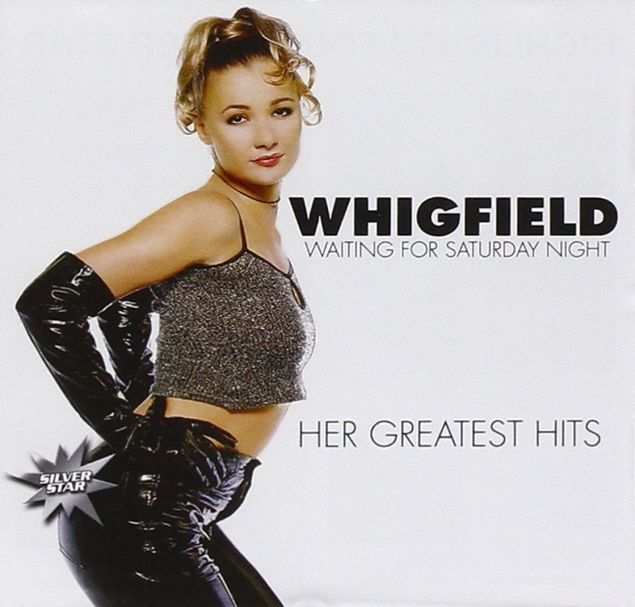 Whigfield Greatest Hits Album Cover
