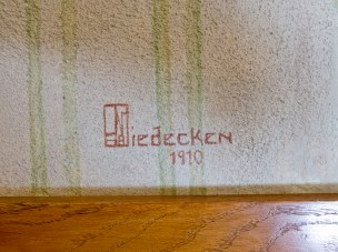 George Mann Niedecken was a Milwaukee-based interior architect who collaborated with Frank Lloyd Wright