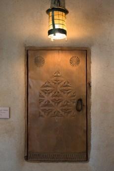Fechin House woodwork-8421