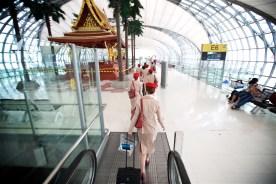 Flying with Emirates - Departing Bangkok for Dubai