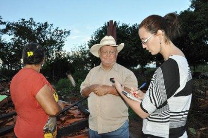 Patricia Sanches suia missu moradores