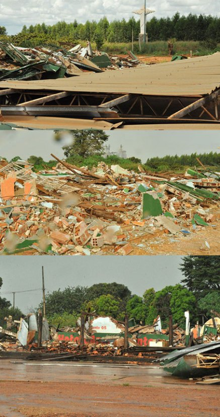 suia missu casas destruidas