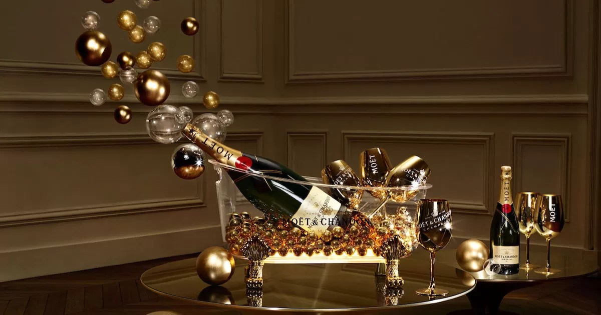 Faire Pop - Couverture Moët & Chandon