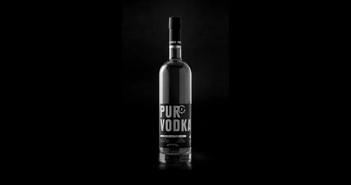 Pur Vodka Ultra Premium 5 noir