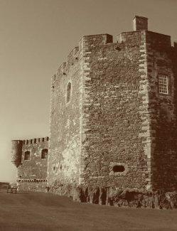 Blackness Castle Duotone print