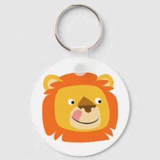 Yummy lion keychain keychain