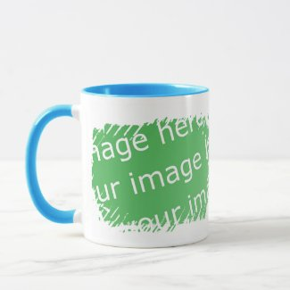 Fringe Border Design - 2-sided mug