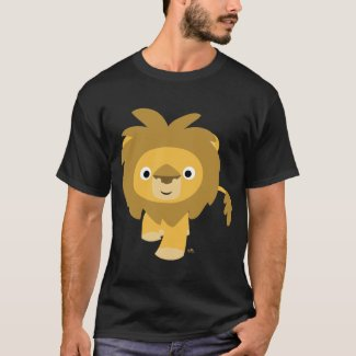 Hello!! Cartoon Lion T-shirt shirt