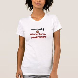 homeschooling anarchist shirt