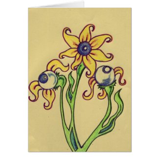 eye ball plant card