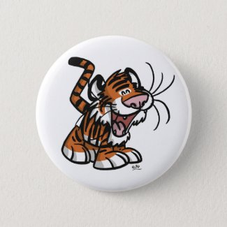 Lil'Tiger button badge button
