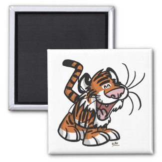 Lil'Tiger magnet magnet