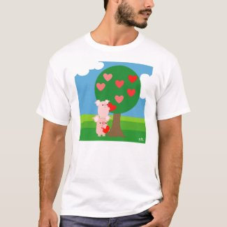 Tree of Love T-shirt (design on the front)