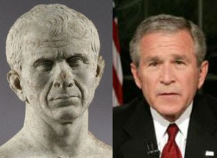 Image result for george w. bush caesar