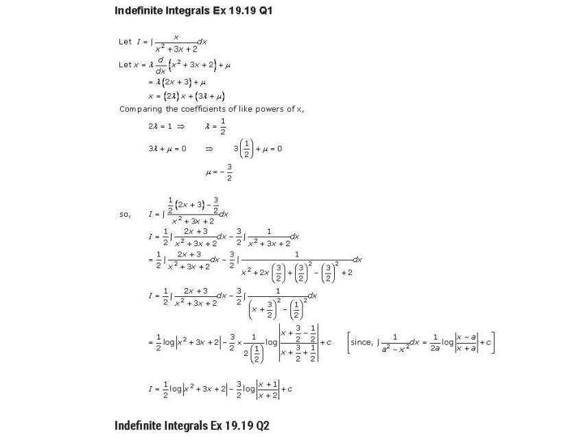 RD Sharma Class 12 Solutions Chapter Wise