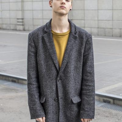 radek pestka oversize płaszcz