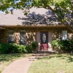 Front of our NE Dallas sober living home