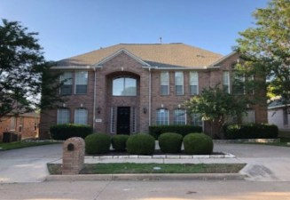 Front of sam rayburn NW dallas sober living