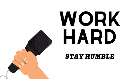 Exercise and humility graphic