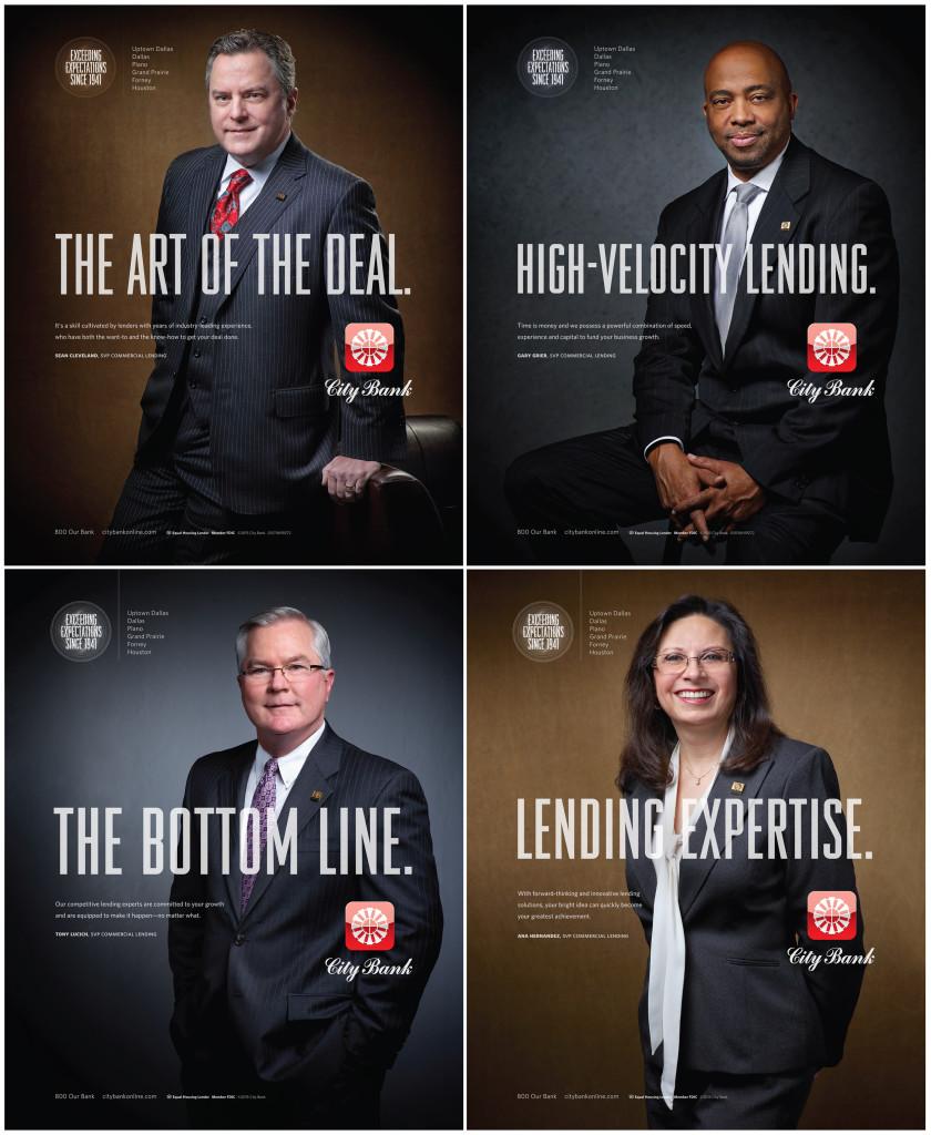 RD Thomas City Bank DCEO Print Ads