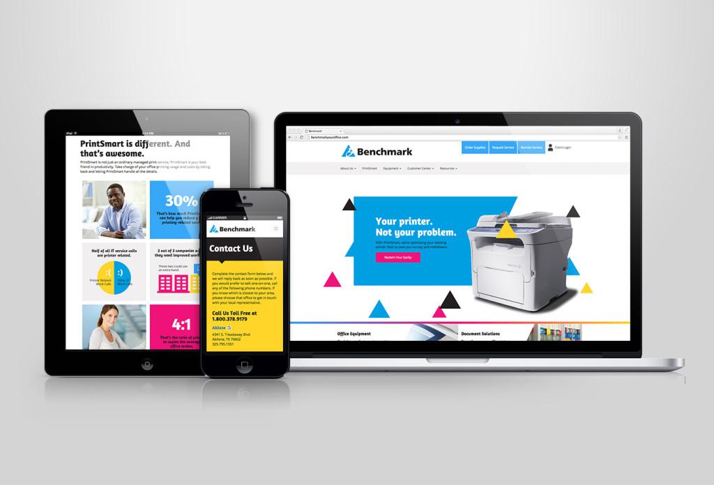 RD Thomas Benchmark PrintSmart Website