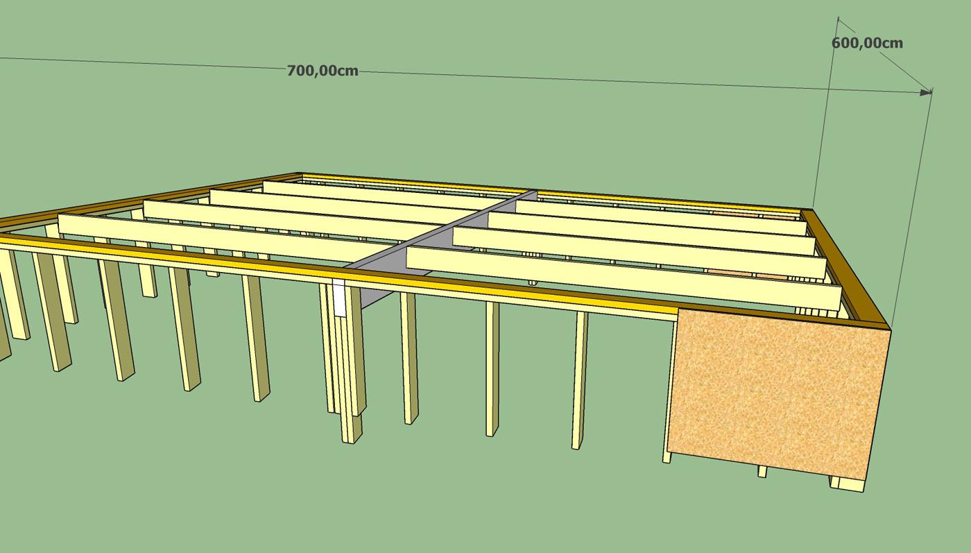 Fabrication D Un Double Garage Ossature Bois Page 2 Forum Copain Des Copeaux