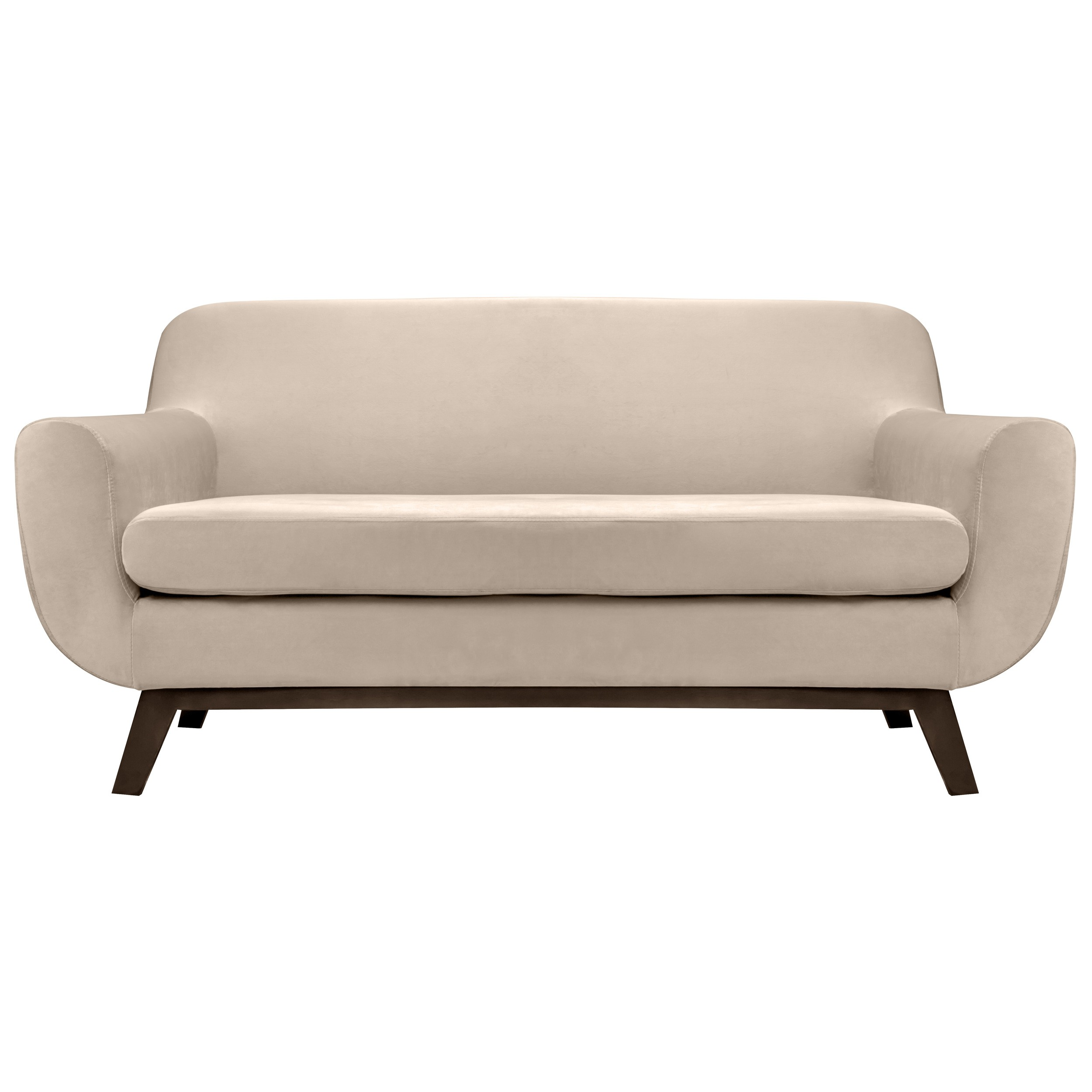 canape copenhague 2 places en velours beige