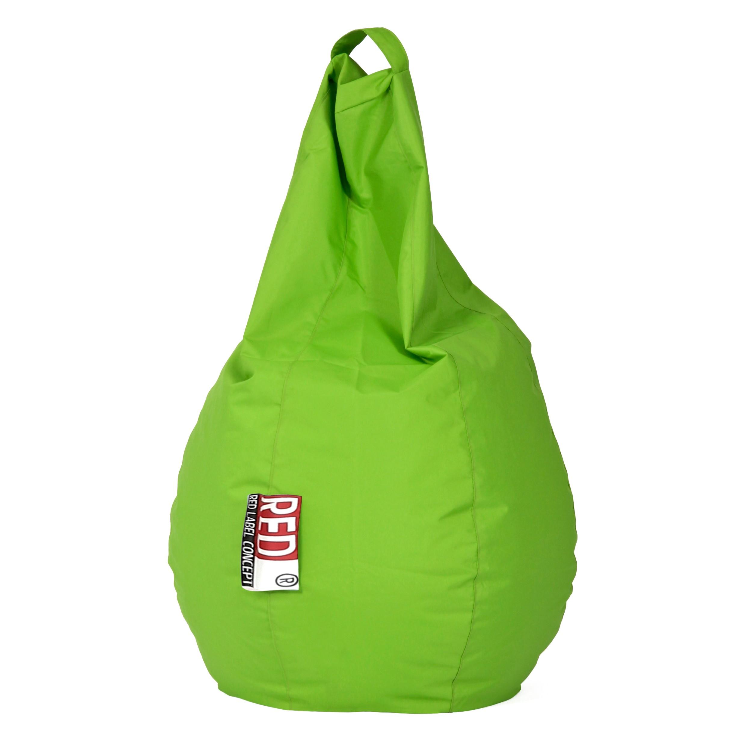 pouf poire loly vert pour enfant