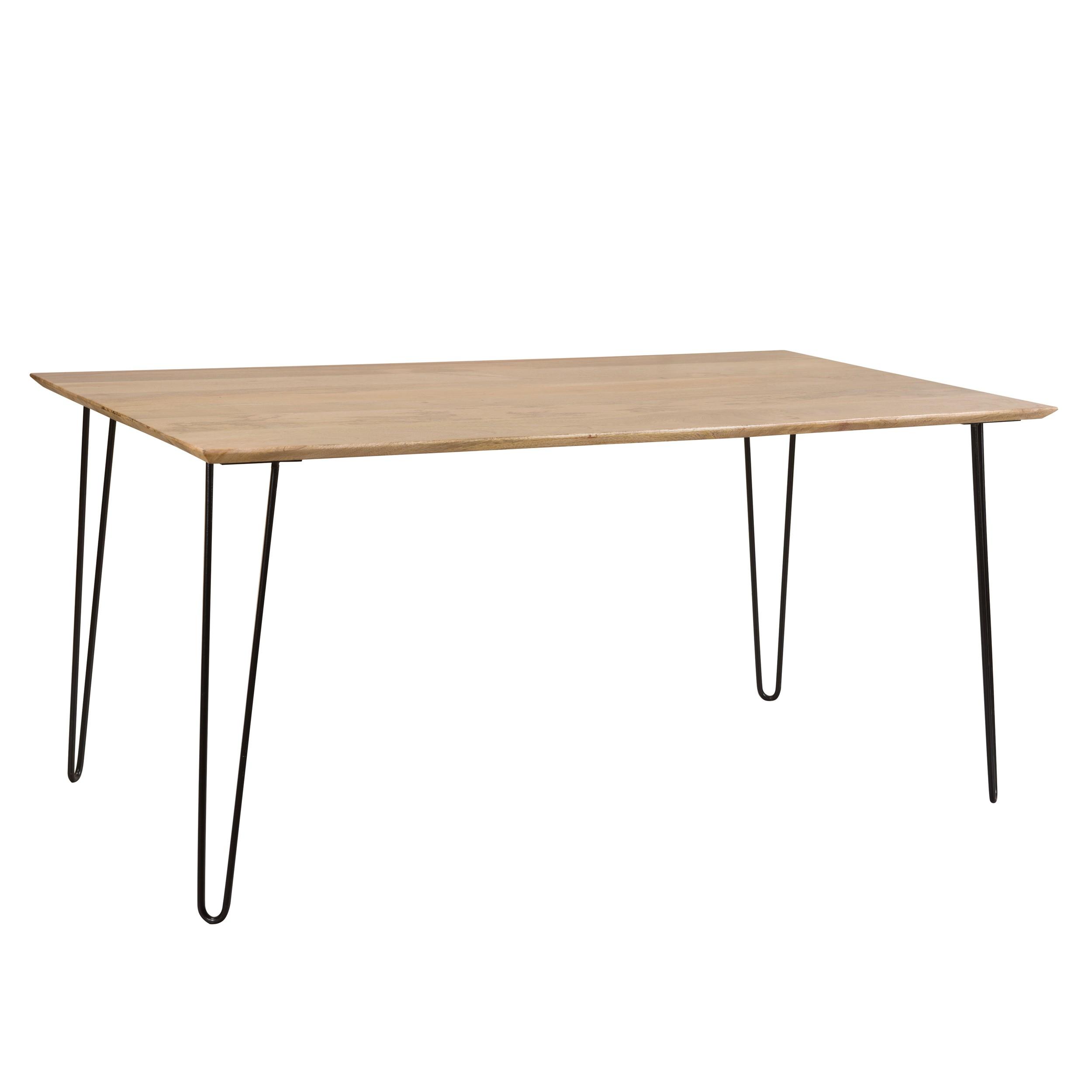table rectangulaire kiwi 160 cm en bois