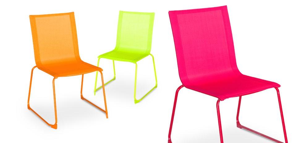 chaise de jardin verano verte lot de 2