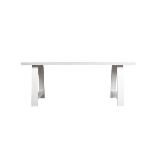 table rectangulaire 230 cm landes blanche zuiver