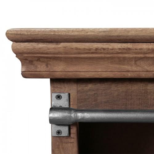 meuble tv tabuk en bois de manguier