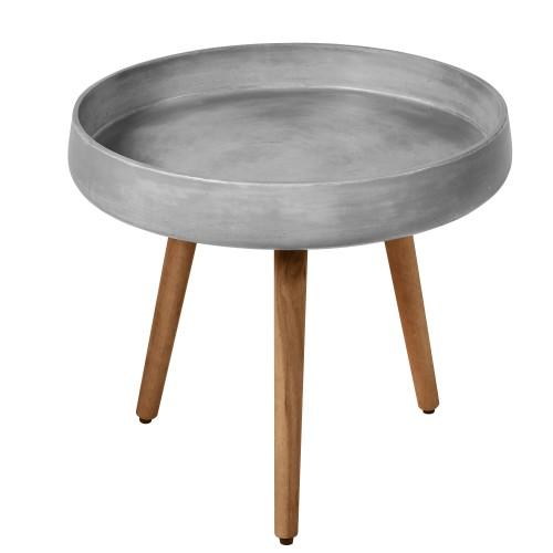 table basse gigogne bart en beton lot de 2